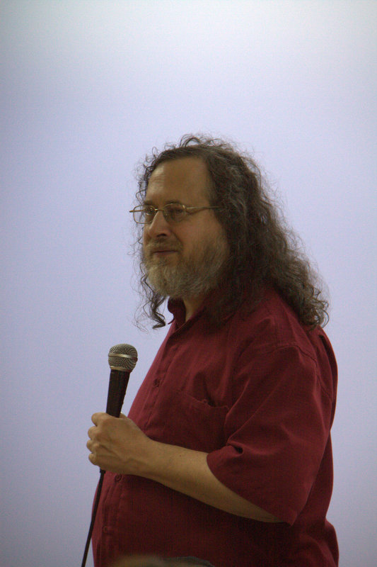Richard Stallman au Paris JUG le 3/10/2012