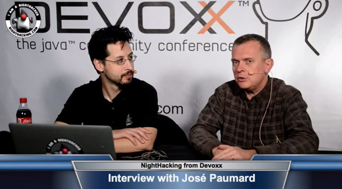 Interview NightHacking Devoxx 2014